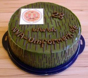ESKS-Torte zum Geburtstag